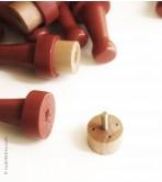 Wooden Needle Felting Holder - 4 needles