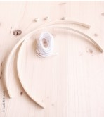 Bamboo Mobile   Arch - 25 cm