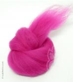 Australian Merino Wool Tops (combed sliver) - FUCHSIA