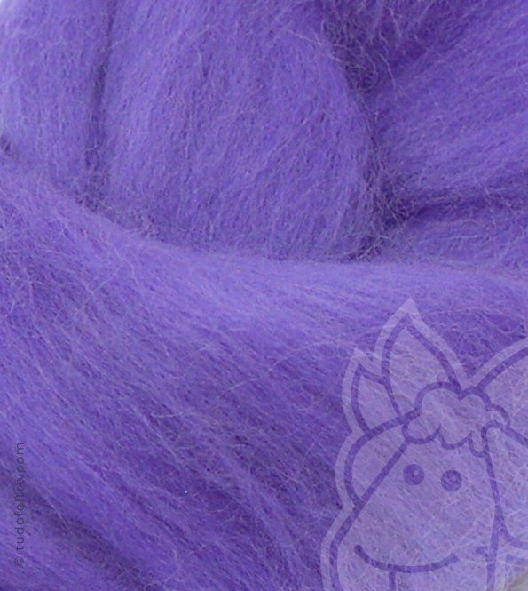 Australian Merino Wool Tops (combed sliver) - LILAC