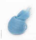 Australian Merino Wool Tops (combed sliver) - LIGHT BLUE