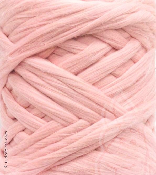 European Merino Wool Tops (combed sliver) - PINK